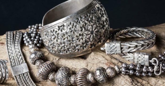Старинные серебряные украшения